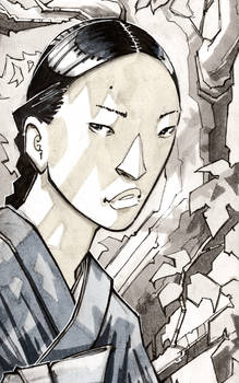 Portrait: The Widow