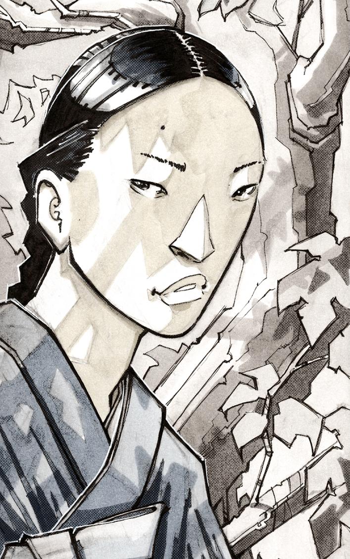 Portrait: The Widow by dForrest