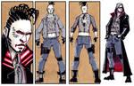 Street Mage - Cyberpunk by dForrest
