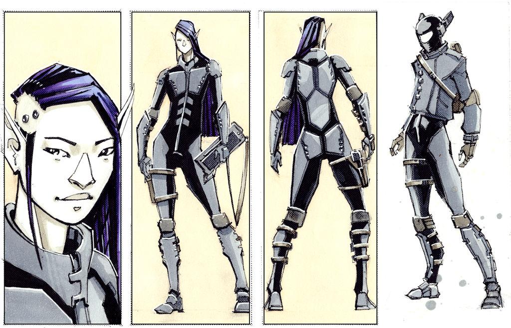 Elf Haxor - Cyberpunk
