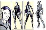 Elf Haxor - Cyberpunk by dForrest