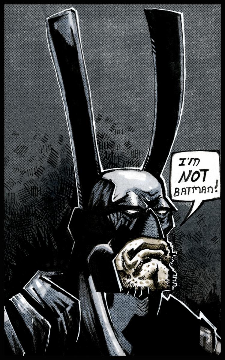 I'm NOT Batman!
