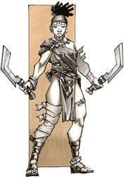 Bahati - Kushite Warrior - RPG Charcter (Conan)