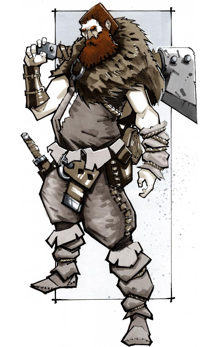 Sigur Tondrmaen - Barbarian Northman