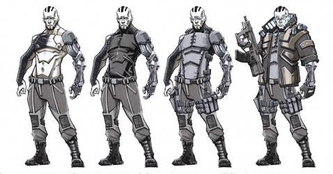 Cyberpunk: Carleton Amand Hasan aka Bloodhound