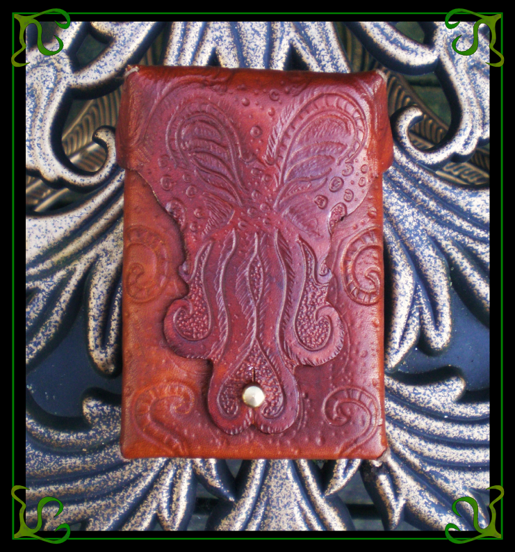 Cthulhu Pouch by Isinglass-Industries