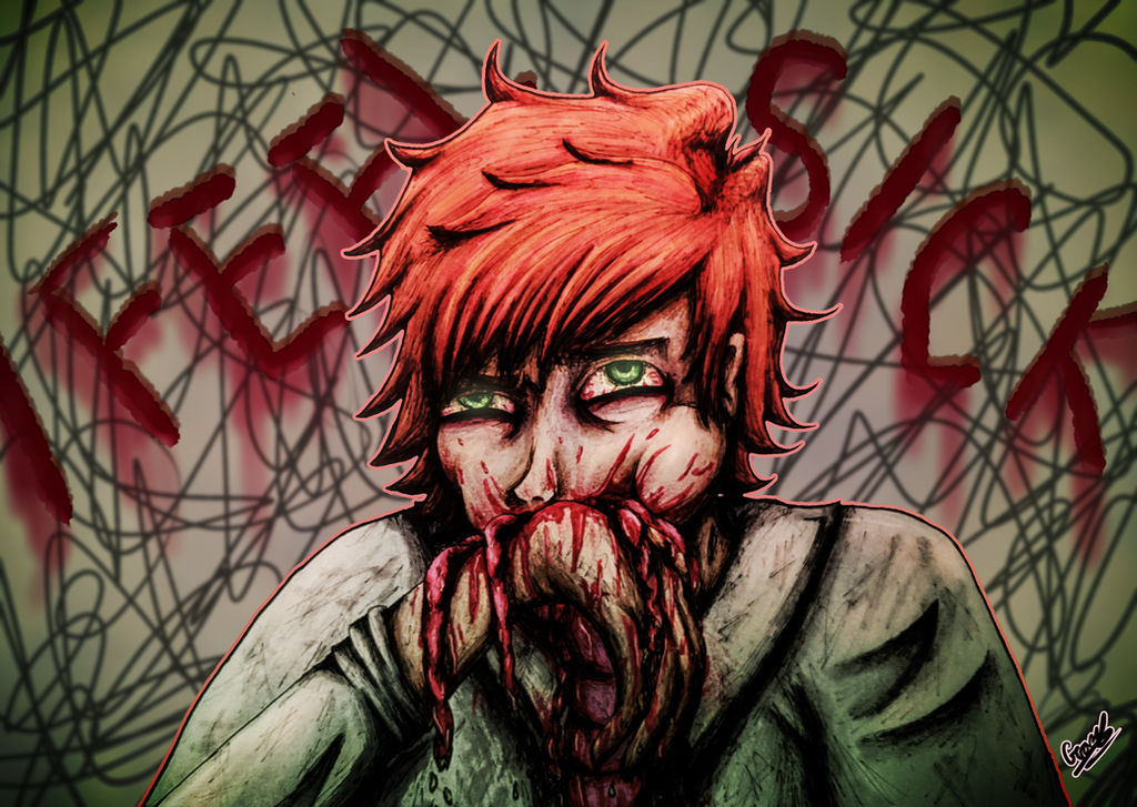 I Feel Sick - Redraw