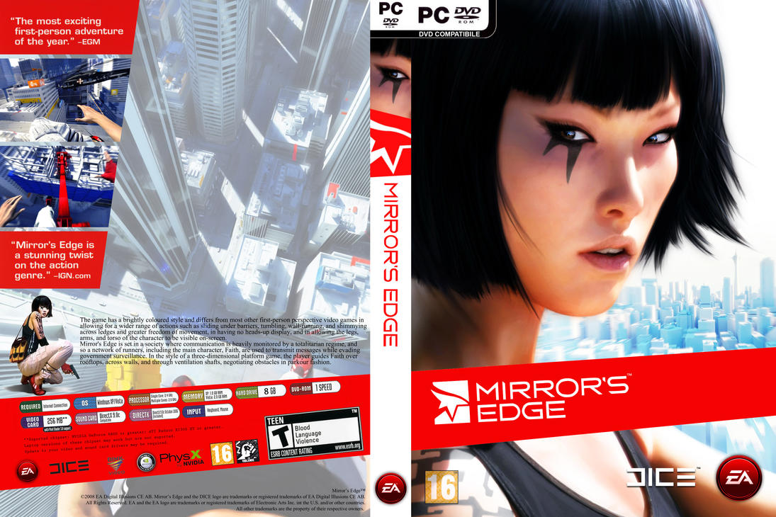 [Mi Subida] Mirror's Edge [MF] [Full] [Español] [2 DVD-5]