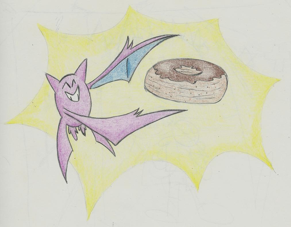 Crobat and Cronuts by boshthehedgehog