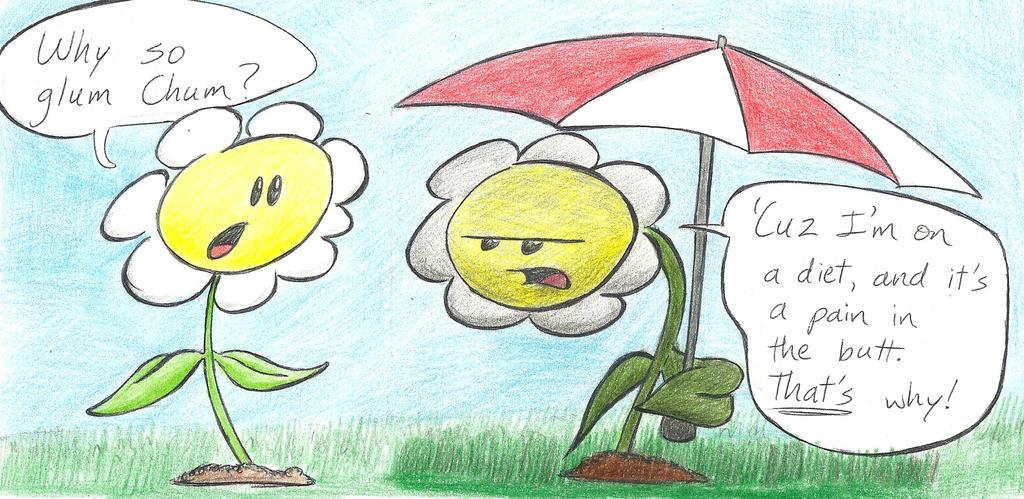 When Plants Diet by boshthehedgehog