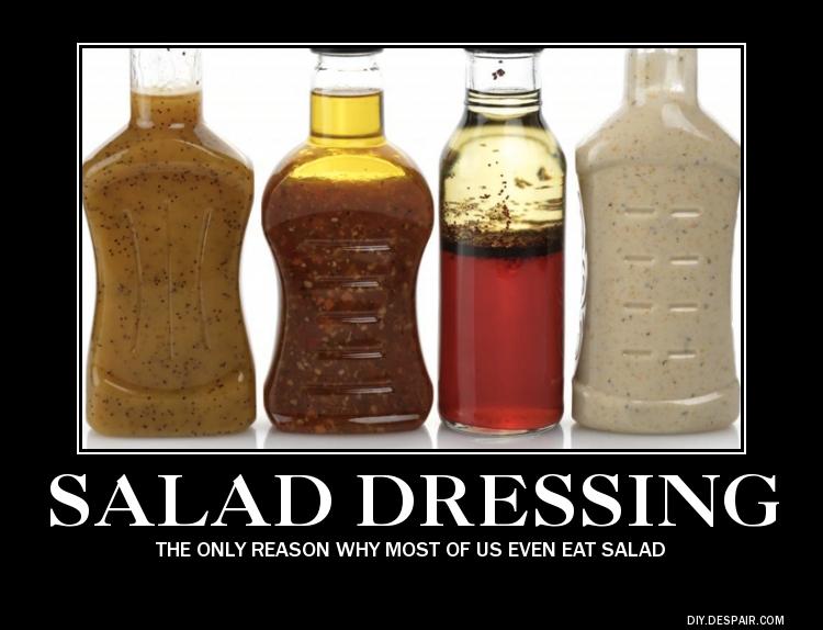Salad Dressing by boshthehedgehog