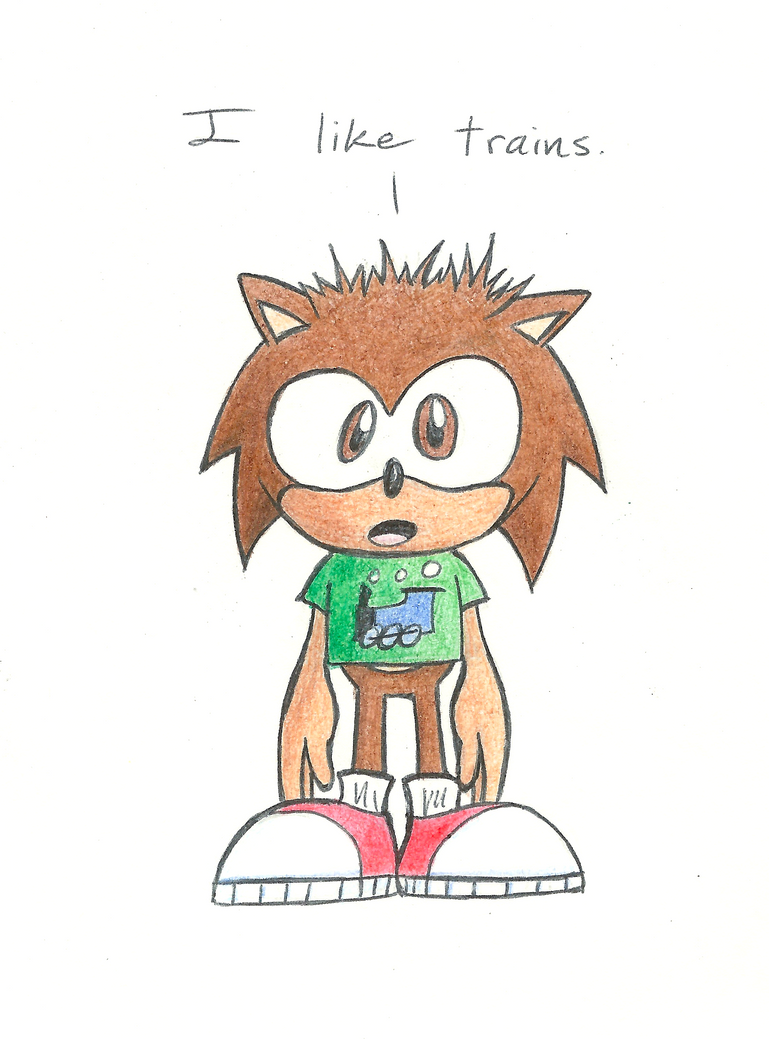 Kid Bosh by boshthehedgehog