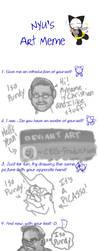 Nyu's Art Meme by CEG-Productions