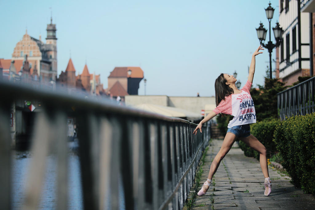 Ballerina, Gdansk by PhotoYoung