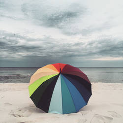 Colourful Beach