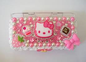 Pink Deco DS Lite Case by AmbiguousAngel