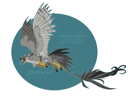 Adoptable - Dustwing Closed