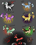 Adoptables - Canides Open by Anipurk