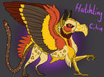 Hatchling Jewel-Gryphon by Anipurk