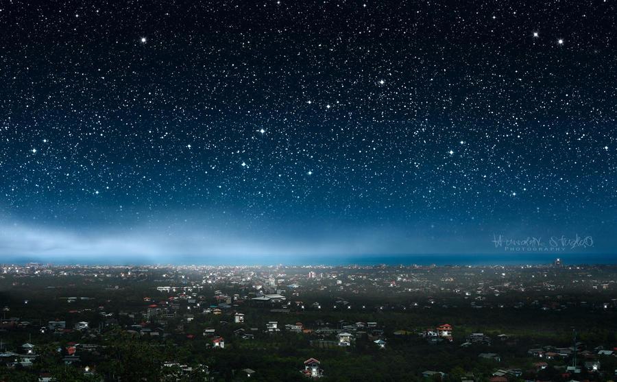 The Stars City by Hussain-Studio
