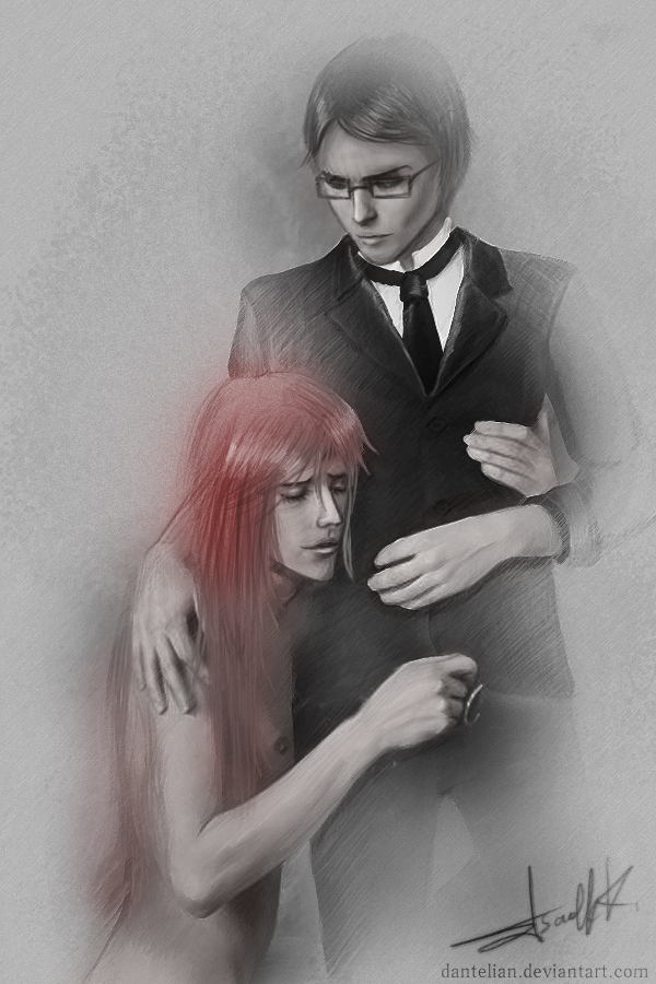 William and Grell by Dantelian