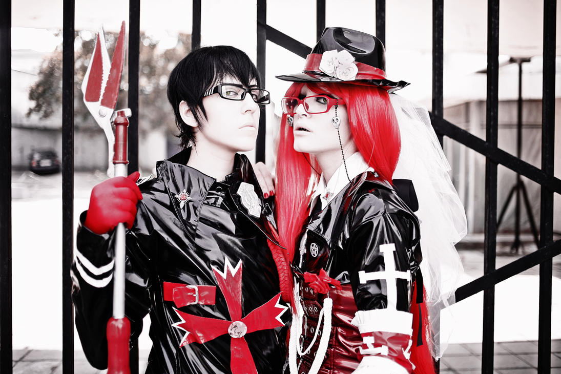 William and Grell J-rock by Dantelian