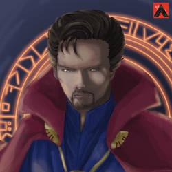 Doctor Strange Fan Art by Ernestalice15