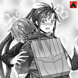 Light Novel Illustration - Hug by Ernestalice15
