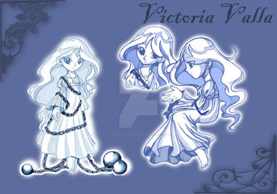 Victorias Poses by MoostarGazer