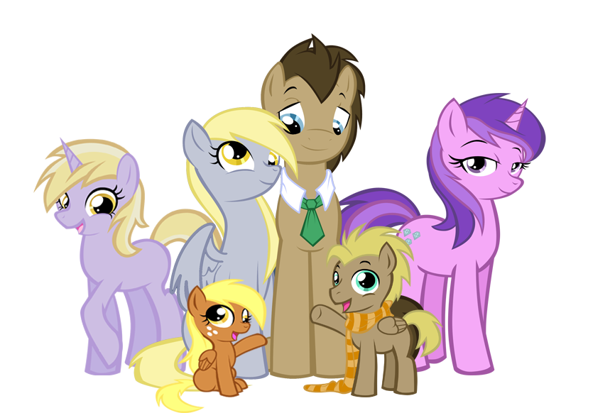 The Whooves Family by MoostarGazer