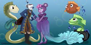 Pirate And Mermaid Gala Royals