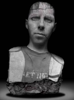 stone bust ID