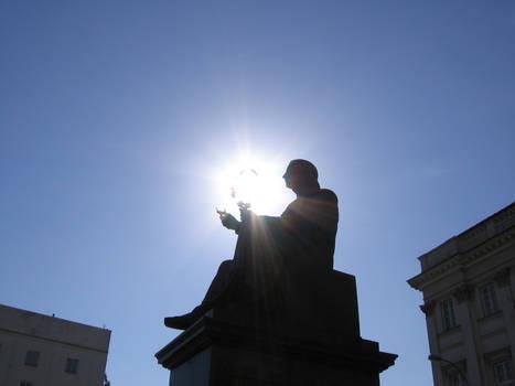 copernicus statue