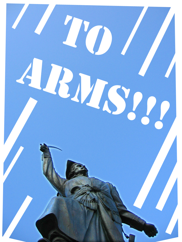 to arms