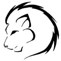 Lion Tattoo by PrettyRedWolf