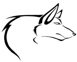 Wolf Tattoo by PrettyRedWolf