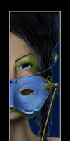 a Masked lady for xgnyc by Audodo