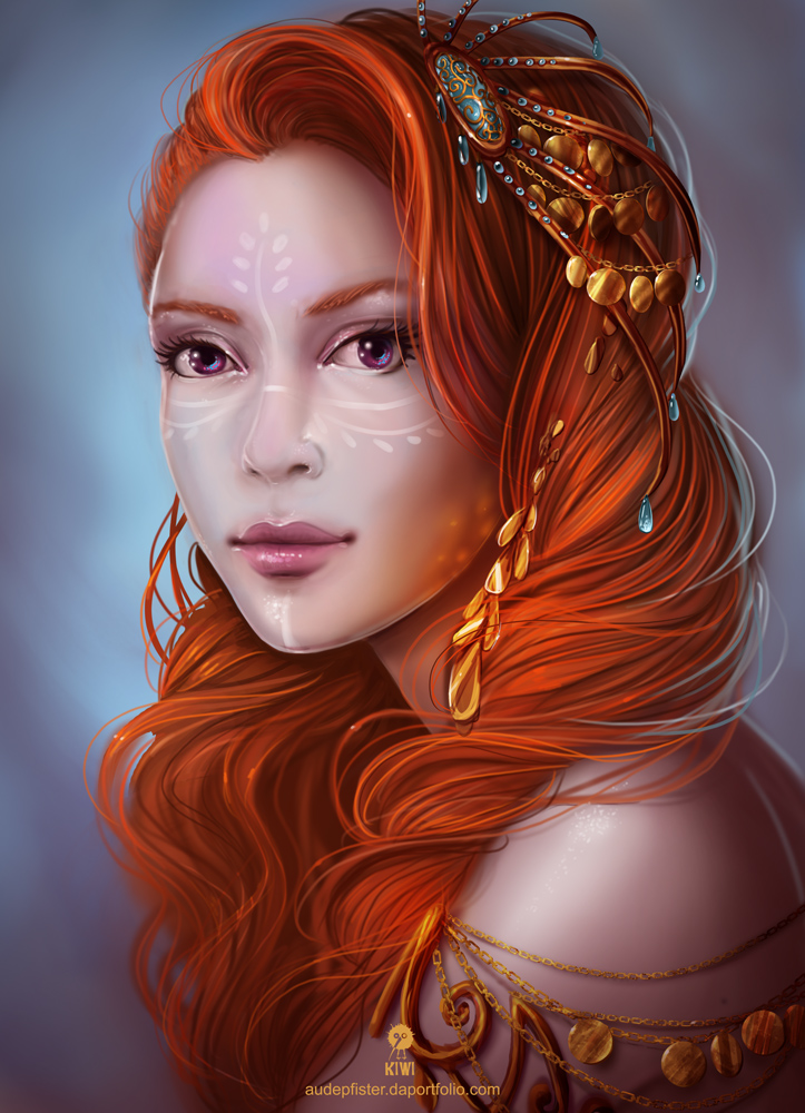 Portrait by whispersss