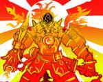 God King - Hellfire Tyrant. by BonnyJohn