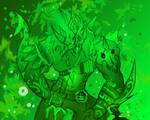 God King - Wurm King by BonnyJohn