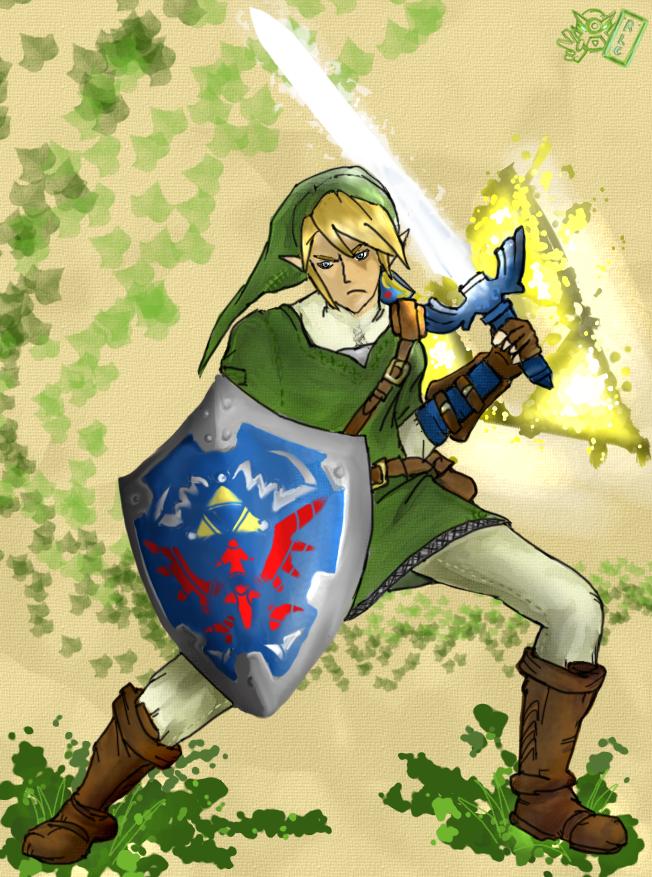 Link - Hero of Time. by BonnyJohn