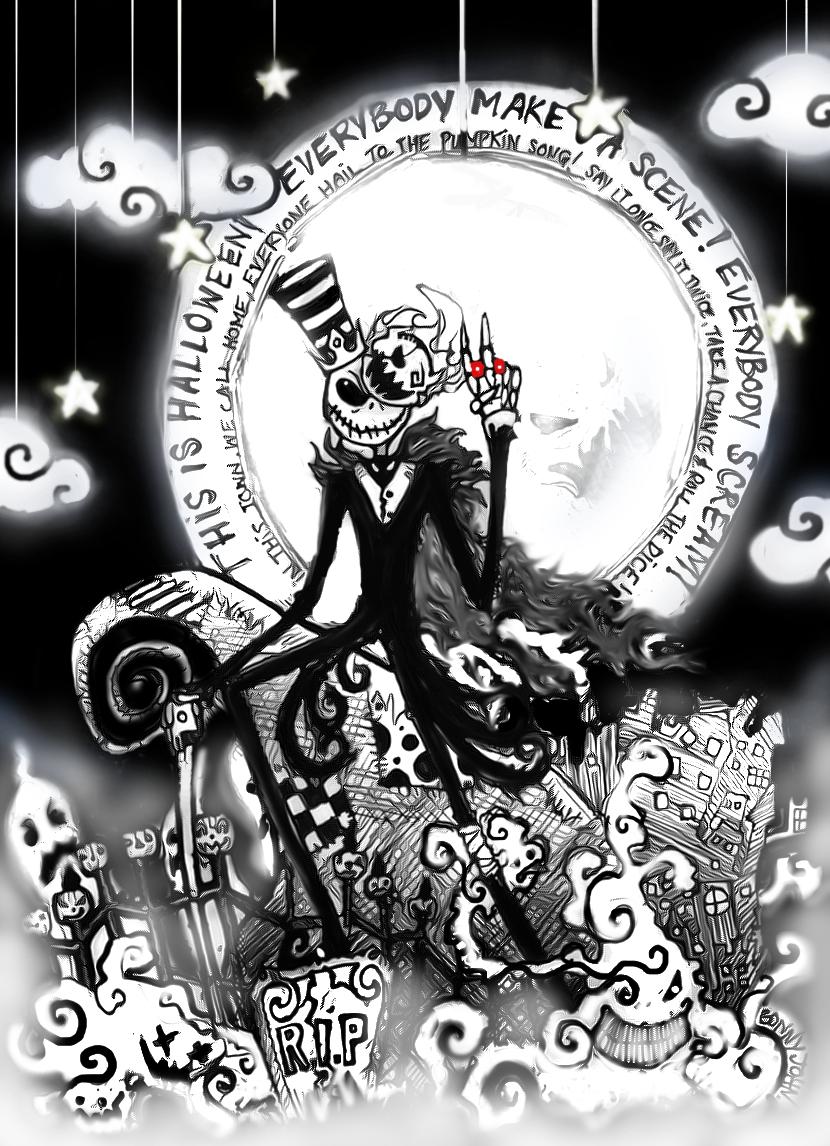happy halloween love jack by bonnyjohn on deviantart