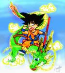Son Gokuu - Pudgy and Awesome. by BonnyJohn