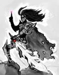 Meta Knight Speed Painting by BonnyJohn