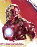 RDJ as Iron Man w/ Speed Painting