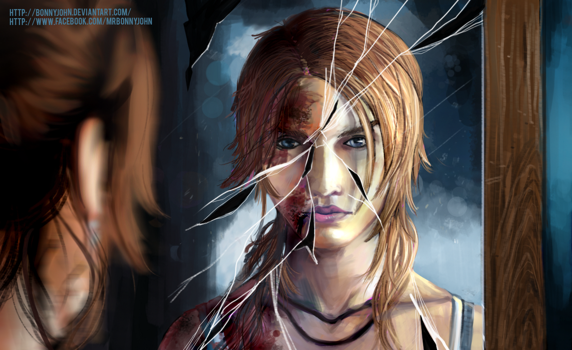 Lara Croft Reborn w/ Speed Painting by BonnyJohn