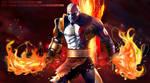 Kratos God of War Speed Painting