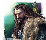 Thorin Oakenshield Speed Painting