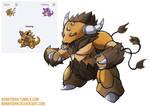 Pokemon Fusion 5 - TAUKING