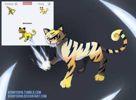 Pokemon Fusion 8 - SABOLT! (Persian + Electabuzz)